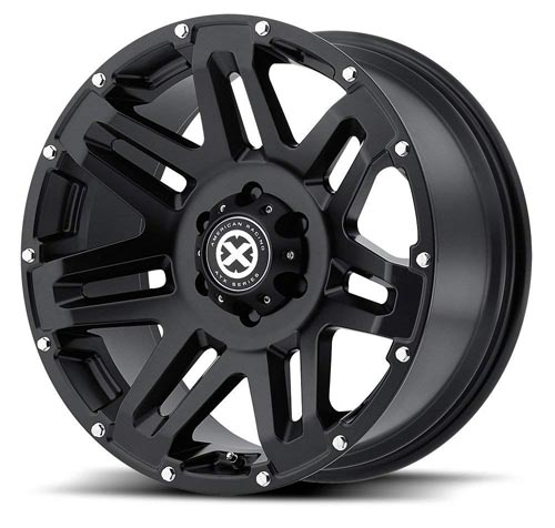 ATX Series AX200 Cast Iron Black Wheel