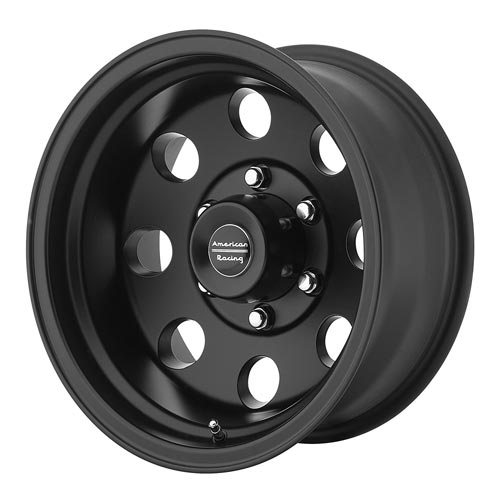 American Racing AR172 Baja Satin Black Wheel