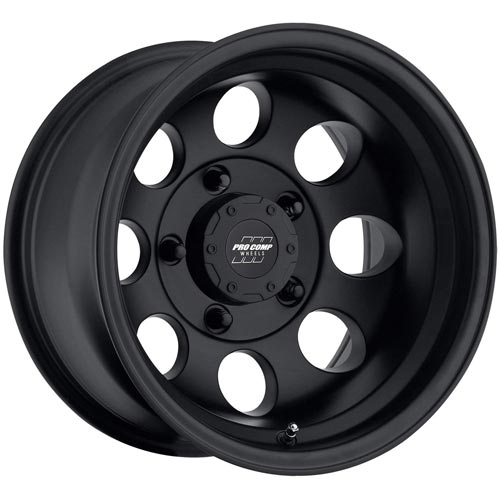 Pro Comp Alloys Series 69 Wheel with Flat Black Finish