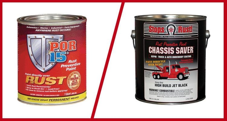Chassis Saver vs por-15: Opinion on rust prevention products