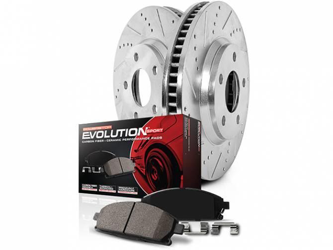 Power Stop z23 Evolution Sport Brake Kit
