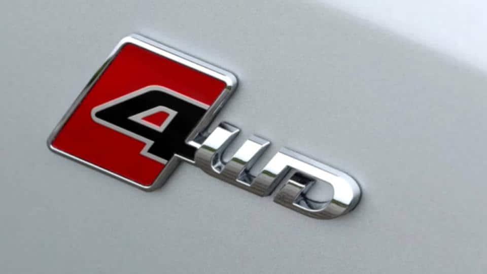 4wd emblem