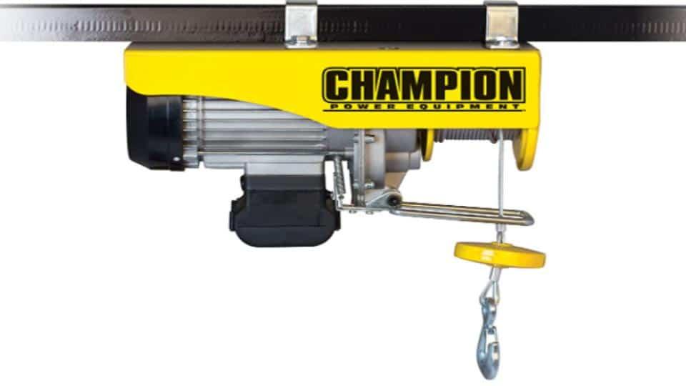 Champion Automatic 440-880 lb Electric Hoist