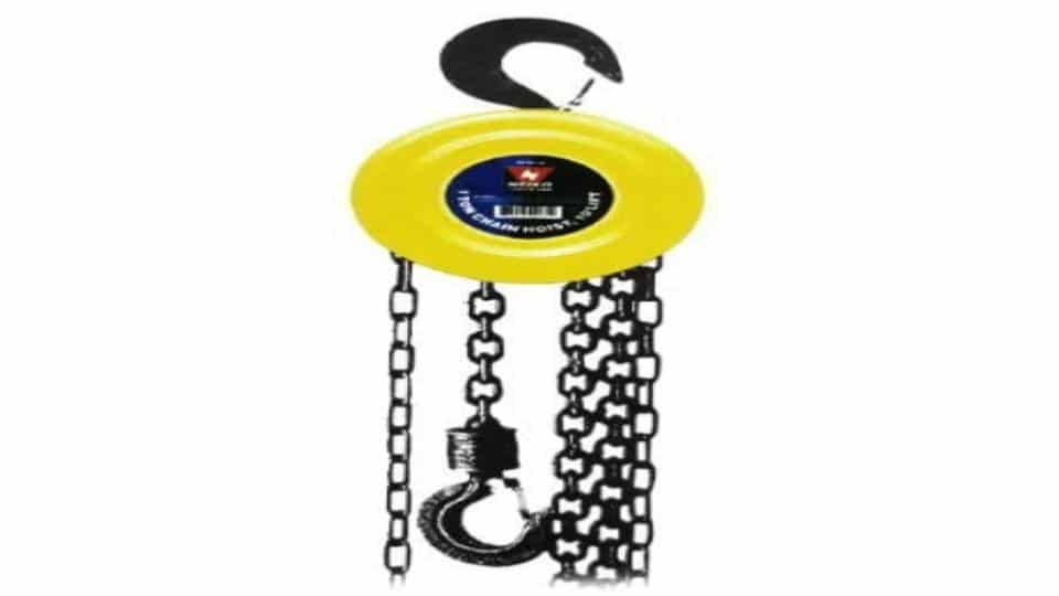 Neiko 02183A Manual Chain Hoist
