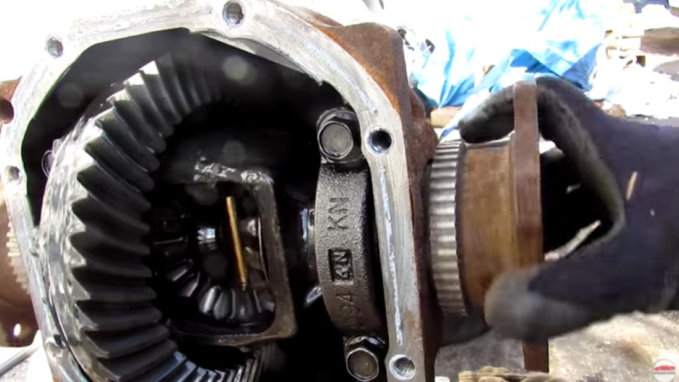 4WD differential