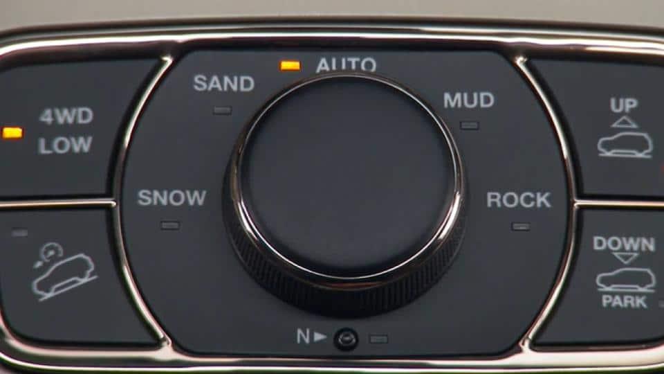4WD shifting indicator