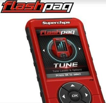 Superchips Flashpaq F5 In-Cab Tuner
