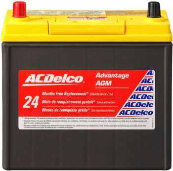 ACDelco Gold B24R Hybrid Vehicle AGM BCI Group 51 Battery