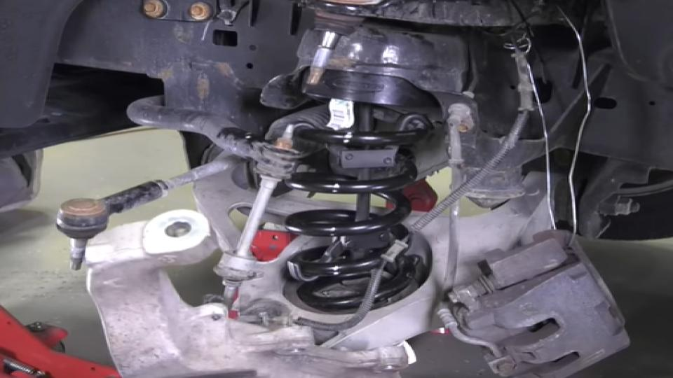 installation of the leveling kit