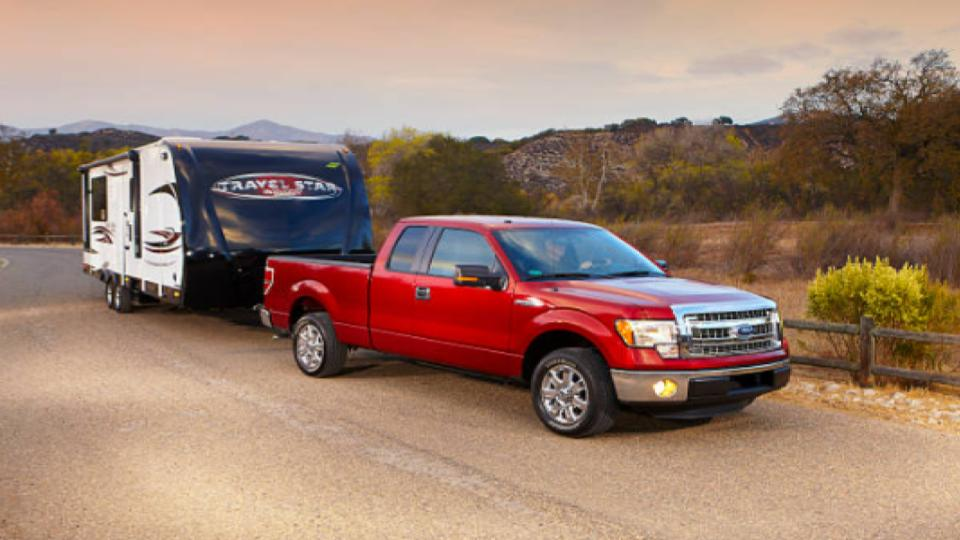 travel star trailer pulled by F 150